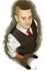Tomi self portrait by porojj