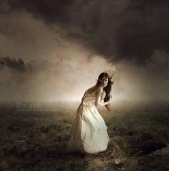 Lady in Appalachia by RoadioArts