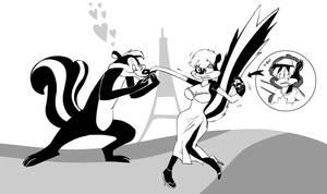 Les gets romanced by Rabbette