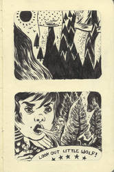 Moleskine Page 3 by okchickadee