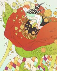 Dark Horse: Flower Mecha by okchickadee