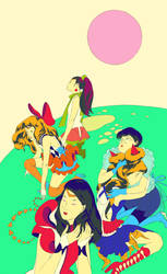 The Sailor Soldiers' Lament by okchickadee