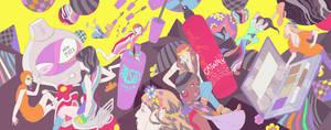 Nylon Magazine: Counterculture by okchickadee