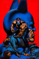Batman Vengeance Of Bane Special cover by GlennFabry