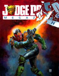 Dredd Megazine 1360 by GlennFabry