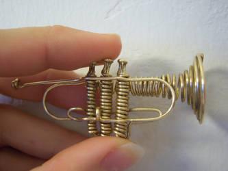 Wire Trumpet by doganie