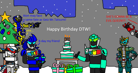 Gift:Happy Birthday DTW and merry Christmas by alex20191