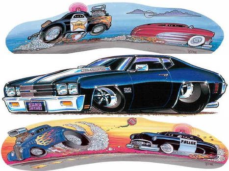 george trosley how to draw cartoon cars