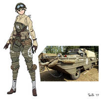 DUKW-353 Amphibious Truck by Just-TenTh