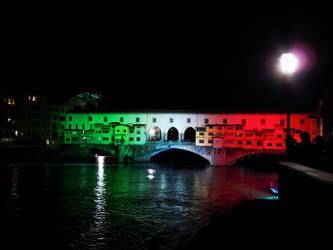 Italian Ponte Vecchio by NightDark