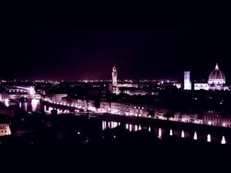 My city in purple by NightDark
