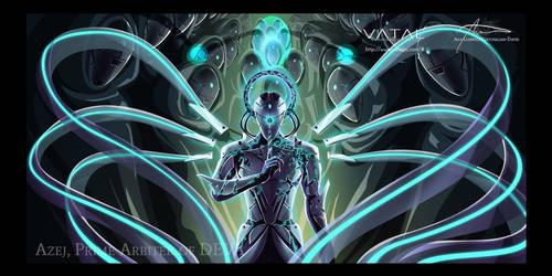 Tabletop Commission - Azej, Prime Arbiter Of DEVA by Antarel