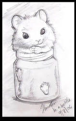 Hamlets-Hamster In a Bottle by Tahki