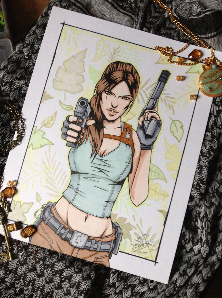 Something Shiny - Lara Croft Tomb Raider by Amanda-Lara1996