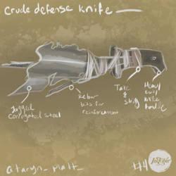 Inktober #4 - Handmade Weapon - The Last of Us by Amanda-Lara1996