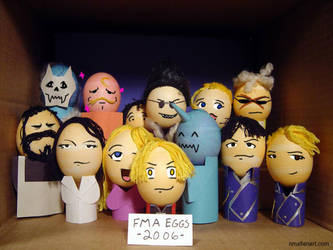 FMA EGGS GROUP SHOT by TerribleToadQueen
