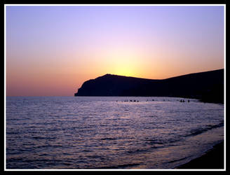 Sunset at Eressos by 5nak3
