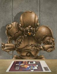 RoboPrint by Lebbeus
