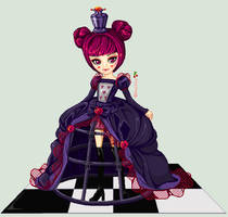 queen or harlequim by GigideMortimer