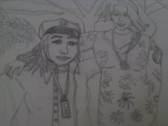 Mummy and me sketch.s.a.g.r. by buzzlightgirl