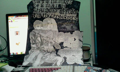 Vampire Drawing by buzzlightgirl