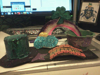 My 2012 St Patricks day float for my grandfather by buzzlightgirl