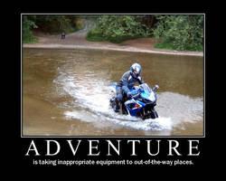 Motorbike Posters-Adventure by Eccles116