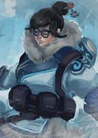 Mei Overwatch by Kyveri