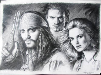 Pirates of the Caribbean by viktorS24