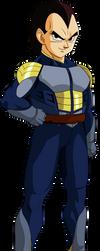 Vegeta (Saiyan Saga) MLL RedesignV2 by MAD-54