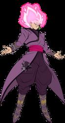Super Saiyan Rose Goku Black MLL Influenced by MAD-54