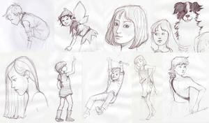 Sketch Dump by cazoo180