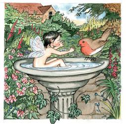 Bird Bath by cazoo180