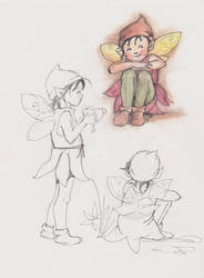 Fairy Sketches by cazoo180