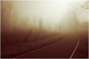 foggy path by BrianWolfe