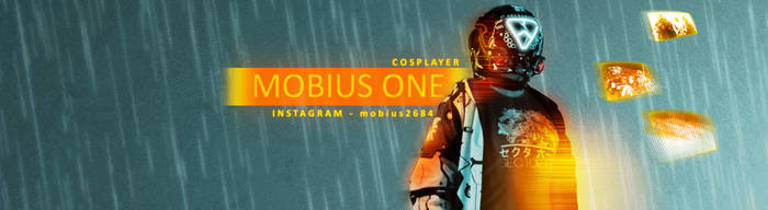 [GIFT] Mobius One Cosplay Banner by KaptnKrunch09
