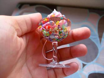 Candy Soda Float by kawaiifriendscafe