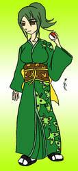 Shikoku Gym Leader - Ageha by y2jchampion