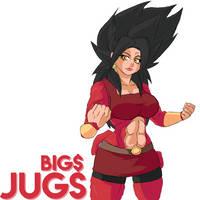 SSJ4 Kale by bigmoneyJugs