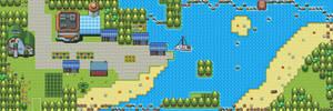 Pokemon Style Free Monster MMORPG Map Bamboo Coast by MonsterMMORPG