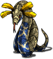 Monster Pythamp Pokemon Fakemon Game MMORPG V2 by MonsterMMORPG
