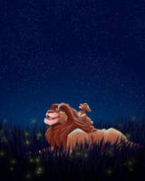 Under the stars  by Hynael