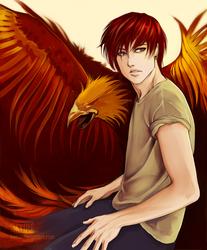 Commission - Phoenix by KiyuMiyu