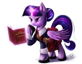 Librarian Princess Twilight by Tsitra360