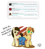 Shared Pants in a Relationship by Tsitra360