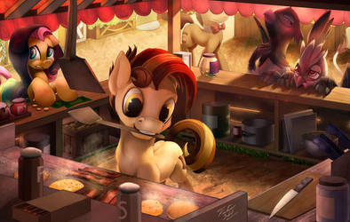 Get Your Breakfast by Tsitra360