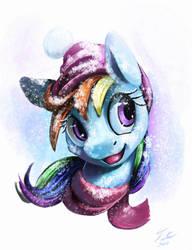 Snow Pony_Dash by Tsitra360