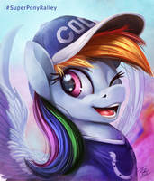 Super Bowl Pony _ Dash by Tsitra360