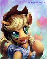 Super Bowl Pony _ AJ by Tsitra360