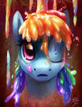 Rainbow Splash by Tsitra360